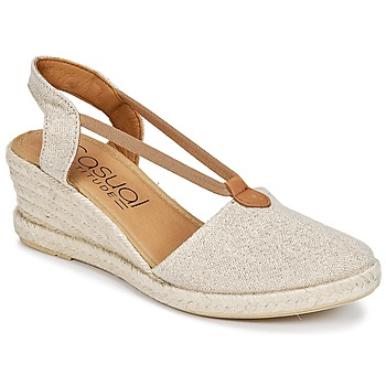 Shoes Women Espadrilles Casual Attitude IPOP Gold