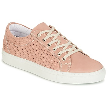 Shoes Women Low top trainers Casual Attitude IPINIA Pink