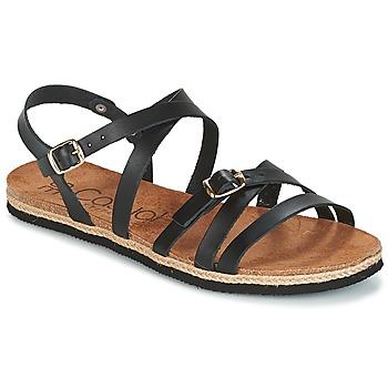 Shoes Women Sandals Casual Attitude ILMEM Black