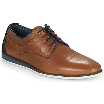 Shoes Men Derby Shoes Casual Attitude ILESO Brown