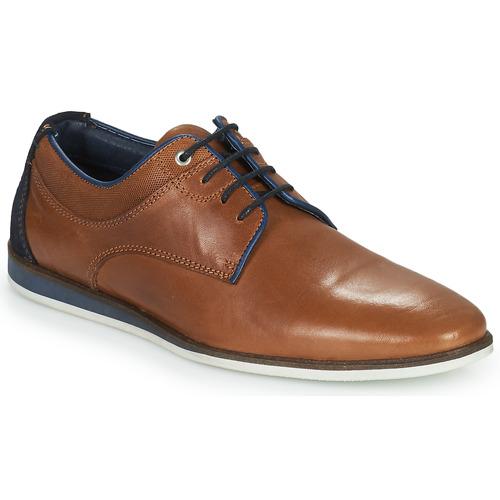 Shoes Men Derby Shoes Casual Attitude ILESO Brown