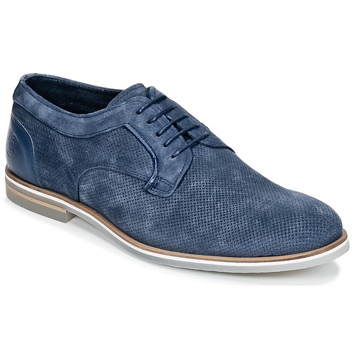 Shoes Men Derby Shoes Casual Attitude IQERQE Blue