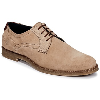 Shoes Men Derby Shoes Casual Attitude IGANDA Beige