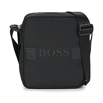 Bags Men Pouches / Clutches Hugo Boss Green PIXEL NS ZIP Black