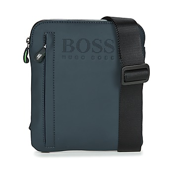 Bags Men Pouches / Clutches Hugo Boss Green HYPER T S ZIP Marine / White