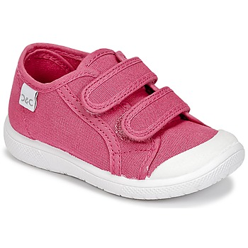 Shoes Girl Low top trainers Citrouille et Compagnie GLASSIA Pink