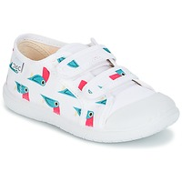 Shoes Children Low top trainers Citrouille et Compagnie GLASSIA White