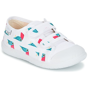 Shoes Girl Low top trainers Citrouille et Compagnie GLASSIA White