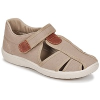 Shoes Boy Sandals Citrouille et Compagnie GUNCAL Beige