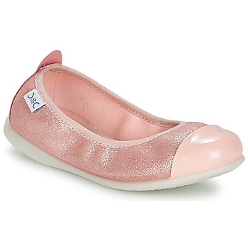 Shoes Girl Flat shoes Citrouille et Compagnie IANTIKOK Pink