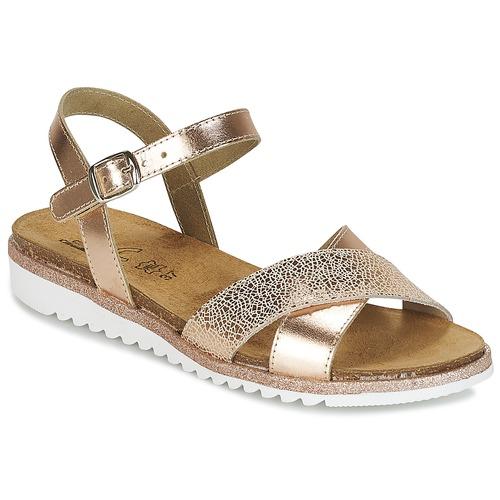 Shoes Girl Sandals Citrouille et Compagnie GAUFRETTE Bronze
