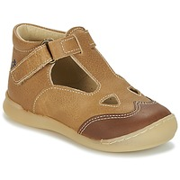 Shoes Boy Sandals Citrouille et Compagnie IARTIALAN Brown