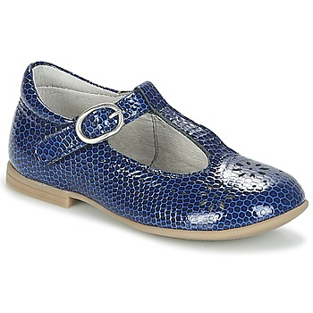 Shoes Girl Flat shoes Citrouille et Compagnie IZALTON Blue