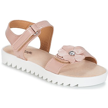 Shoes Girl Sandals Citrouille et Compagnie ILODO Pink