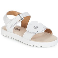 Shoes Girl Sandals Citrouille et Compagnie ILODO White