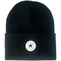 Clothes accessories Hats / Beanies / Bobble hats Converse Tall Cuff Watchcap Knit Beanie - Black Black
