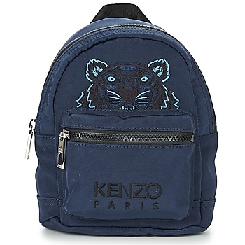 Bags Rucksacks Kenzo TIGER MINI RUCKSACK Marine