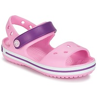 Shoes Girl Sandals Crocs CROCBAND SANDAL Carnation / Pink / Purple