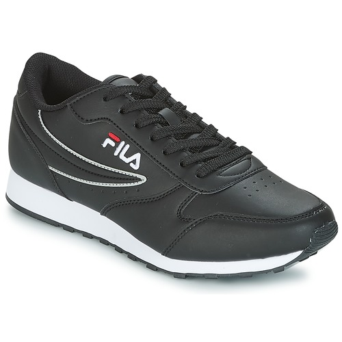Shoes Men Low top trainers Fila ORBIT LOW Black