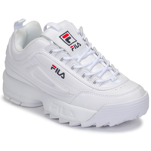 Shoes Women Low top trainers Fila DISRUPTOR LOW WMN White