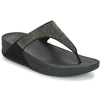Shoes Women Flip flops FitFlop SLINKY ROKKIT Black
