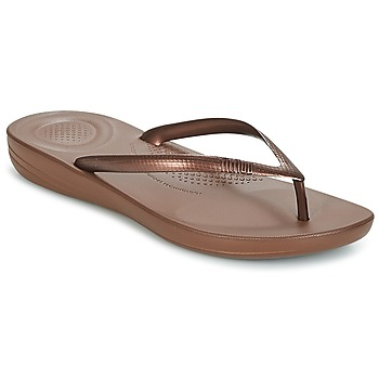 Shoes Women Flip flops FitFlop IQUSHION ERGONOMIC FLIP FLOPS Brown