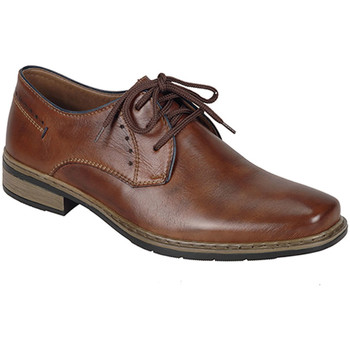Shoes Men Derby Shoes Rieker Mens Lace Up Shoe Brown