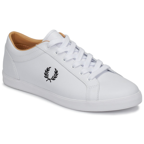 Shoes Men Low top trainers Fred Perry BASELINE LEATHER White