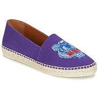 Shoes Women Espadrilles Kenzo CLASSIC ESPADRILLES TIGER Purple