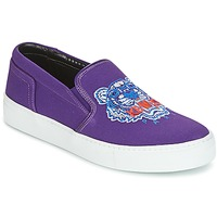 Shoes Women Slip ons Kenzo K SKATE SNEAKERS Purple
