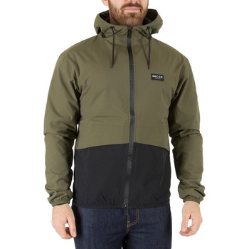 Clothing Men Jackets Nicce London Men's Haven Shell Jacket, Green green