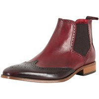 Shoes Men Brogues Jeffery-West Men's Polished Shoes, Red red