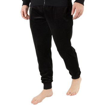 Clothing Men Sleepsuits Armani Men's Pantaloni Joggers, Black black