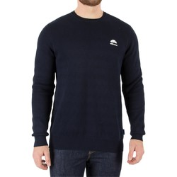Clothing Men jumpers Ellesse Men's Brindisi Textured Italia Knit, Blue blue