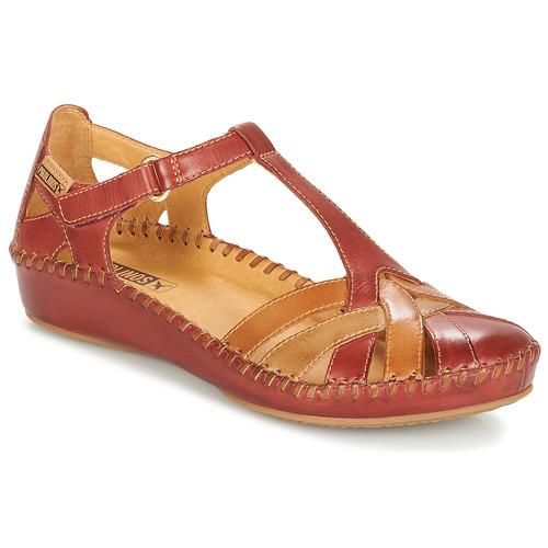 Shoes Women Flat shoes Pikolinos P. VALLARTA 655 Brown