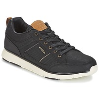 Shoes Men Low top trainers Kappa SIMEHUS Black