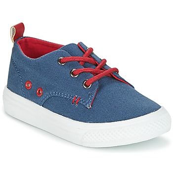 Shoes Boy Low top trainers Garvalin SAND Blue