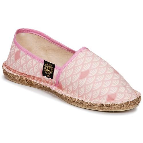 Shoes Women Espadrilles Art of Soule KAMAKURA Pink