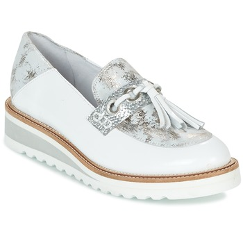 Shoes Women Loafers Regard RALARU White / Silver
