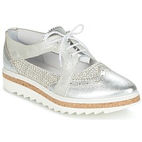 Shoes Women Derby Shoes Regard RASTA Silver