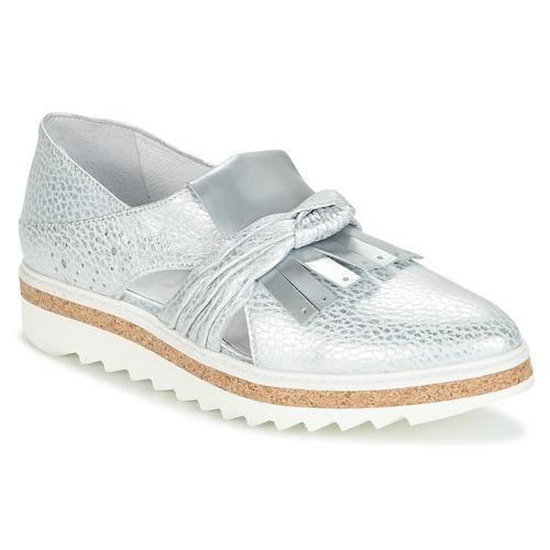 Shoes Women Loafers Regard RASTAFA Silver