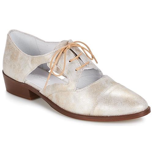 Shoes Women Derby Shoes Regard RELAX Bronze