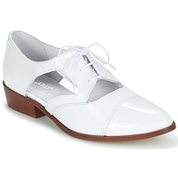 Shoes Women Derby Shoes Regard RELAX White