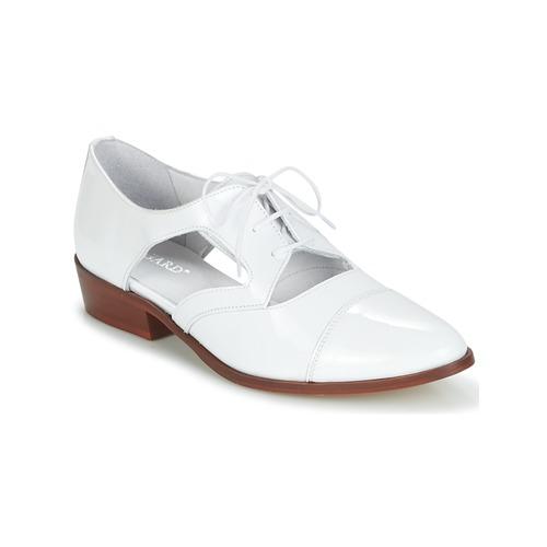 Shoes Women Derby Shoes Regard RELAX White