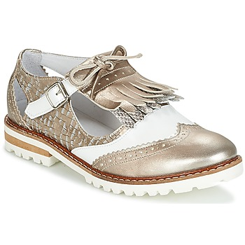 Shoes Women Derby Shoes Regard RETAZO Bronze