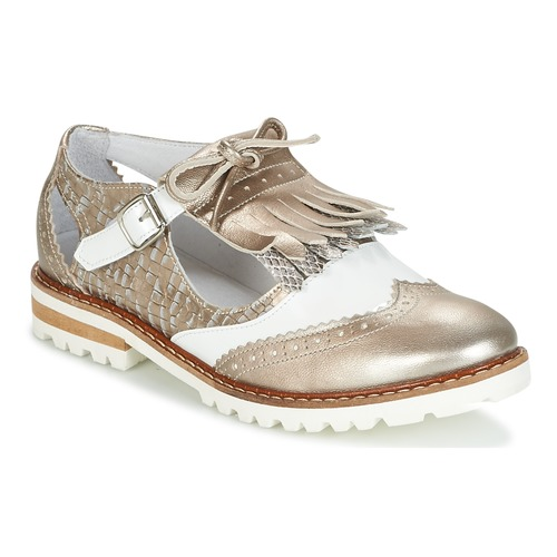Shoes Women Derby Shoes Regard RETAZO Bronze