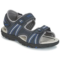 Shoes Boy Outdoor sandals Geox J S.STRADA A Marine