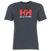 Clothing Men Short-sleeved t-shirts Helly Hansen HH LOGO Marine