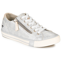 Shoes Women Low top trainers Mustang JOBARIK Silver