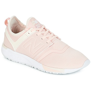Shoes Women Low top trainers New Balance WRL247 Pink
